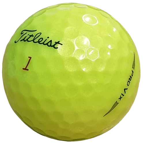 Red Lenses Golf Ball by Hole